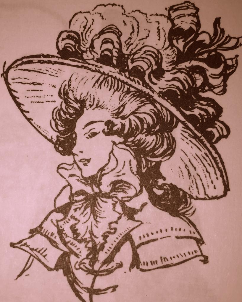Eliza in marvelous hat