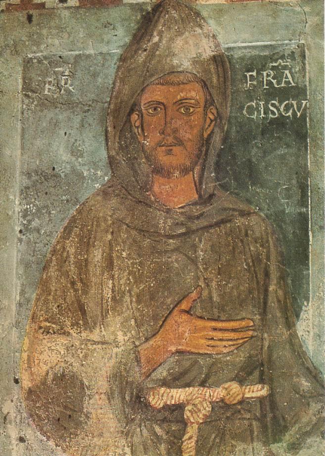 St Francis, Subiaco Abbey, 1228-9